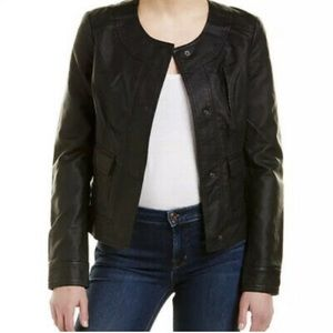KUT FROM THE KLOTH Ainsley Snap Front Jacket SMALL